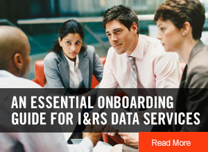 An Essential Onboarding Guide for I&RS Data Services