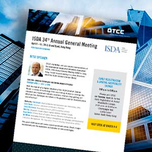 DTCC's Wotton to Speak at ISDA 34th Annual General Meeting