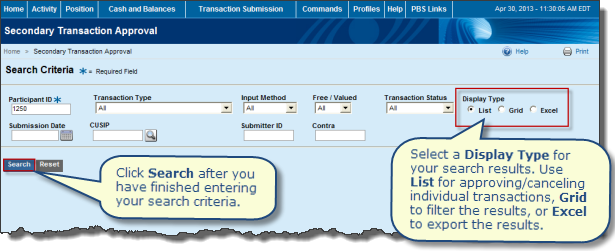 how to cancel a transaction on comm