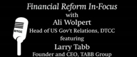 Financial Reform Larry Tabb