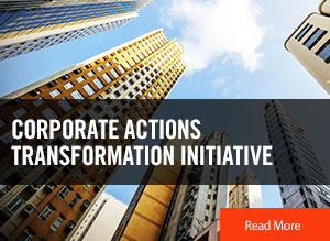 Corporate Actions Transformation