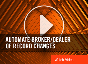 IRS Automate Broker/Dealer of Record Changes