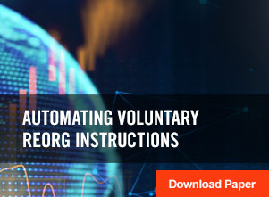 Automating Voluntary Reorg Instructions