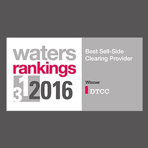 Waters Names DTCC Best Sell-Side Clearing Provider