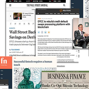 DTCC's DLT Announcement for Derivatives Gains Global Media Coverage