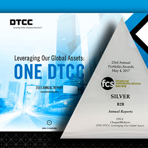 DTCCs 2015 Annual Report Wins Industry Recognitions
