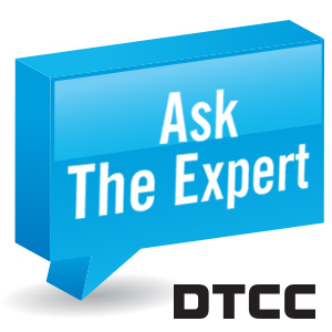How does a market stress event or high-volume trading day impact DTCC systems