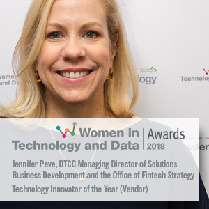 DTCCs Jennifer Peve Recognized for Excellence in Fintech Leadership