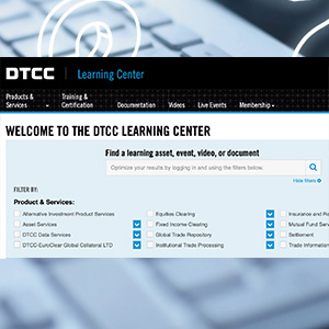 DTCC Learning Gets Smarter with Enhanced Search Feature